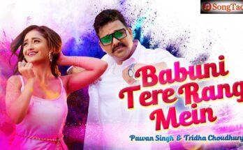 Babuni Tere Rang Mein Song Lyrics