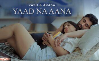 Yaad Na Aana Song Lyrics